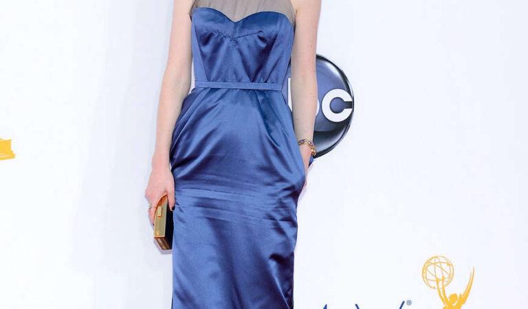 Michelle Dockery 64th Primetime Emmy Awards Los Angeles (3 photos)