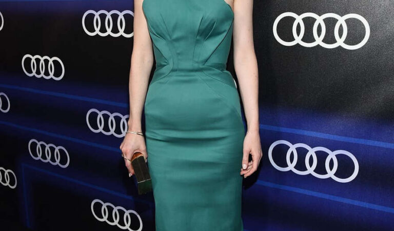 Michelle Dockery Audi Emmy Week Celebration Los Angeles (4 photos)