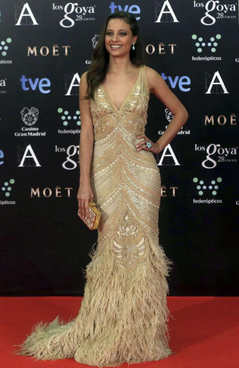 Michelle Jenner 2014 Goya Film Awards Madrid
