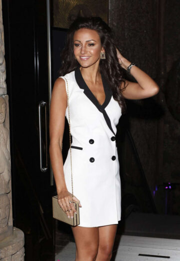Michelle Keegan Out London Her 27th Birthday