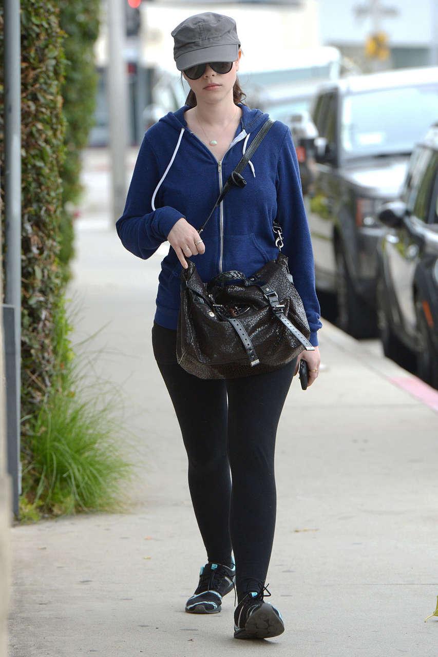 Michelle Trachtenberg Running Errands Los Angeles