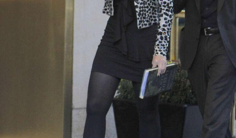Michelle Trachtenberg Set Gossip Girl New York (9 photos)