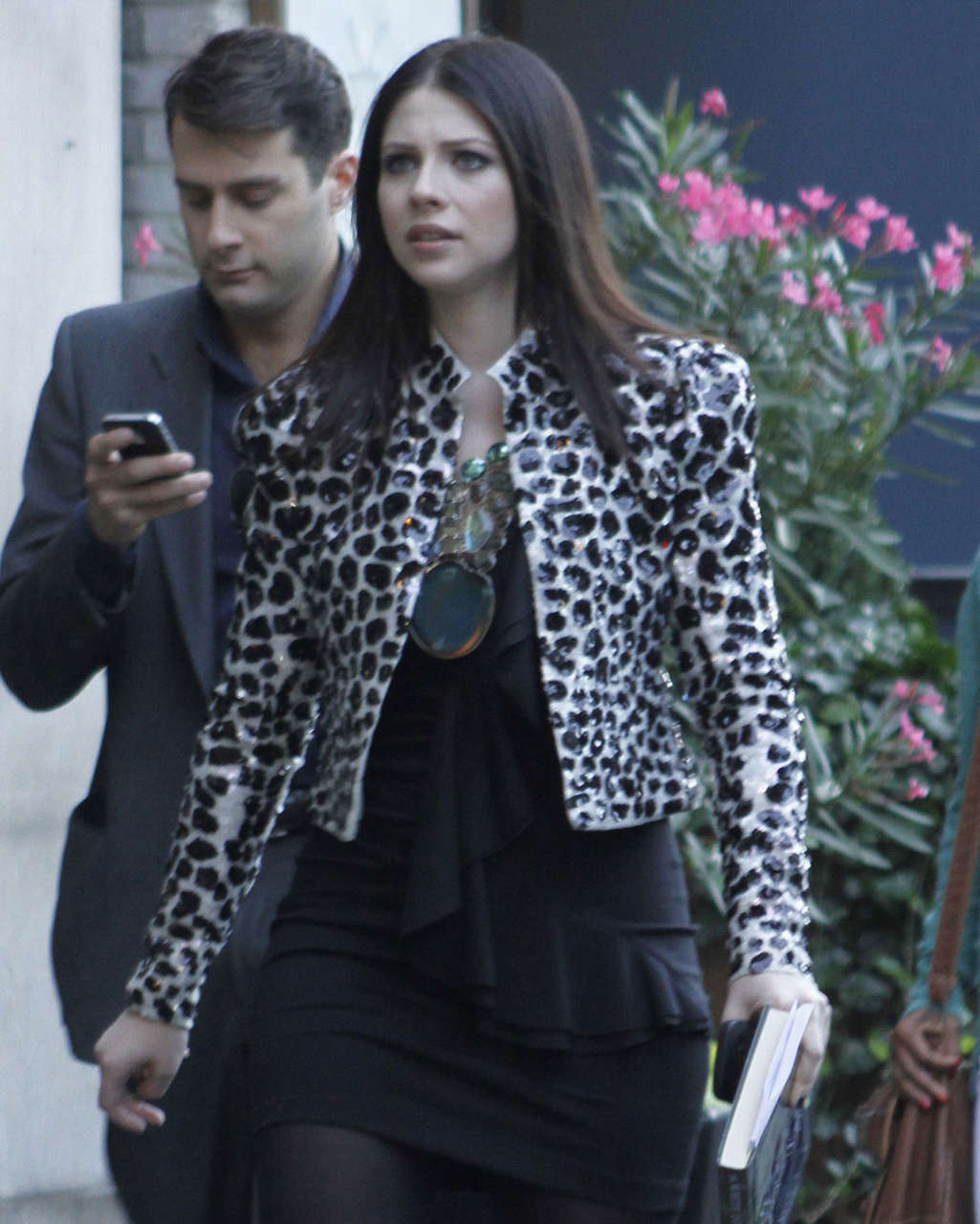 Michelle Trachtenberg Set Gossip Girl New York