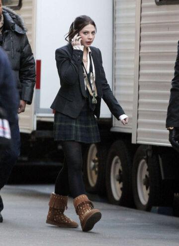 Michelle Trachtenberg The Gossip Girl Set New York
