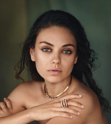 Mila Kunis Photoshoot For Gemfields 2015