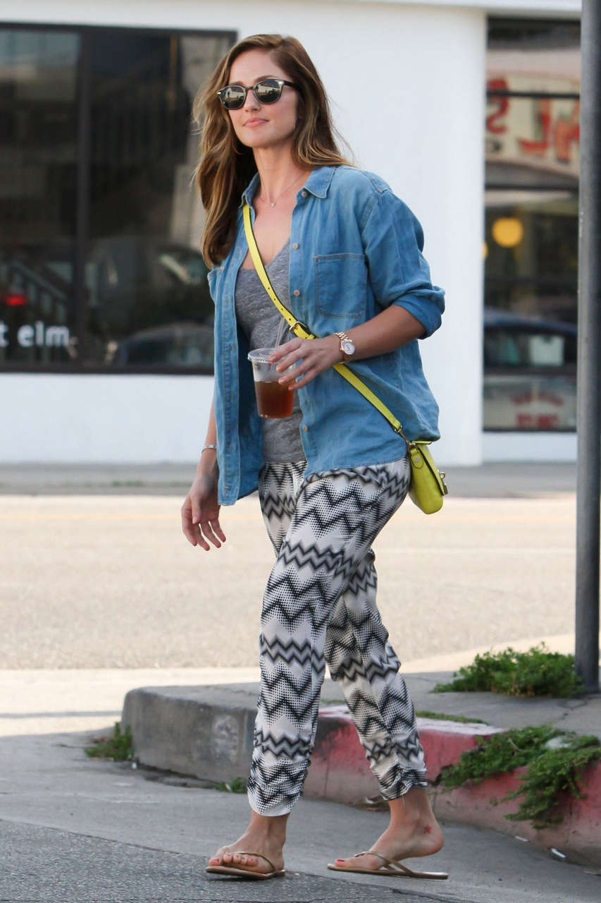 Minka Kelly Out About Los Angeles