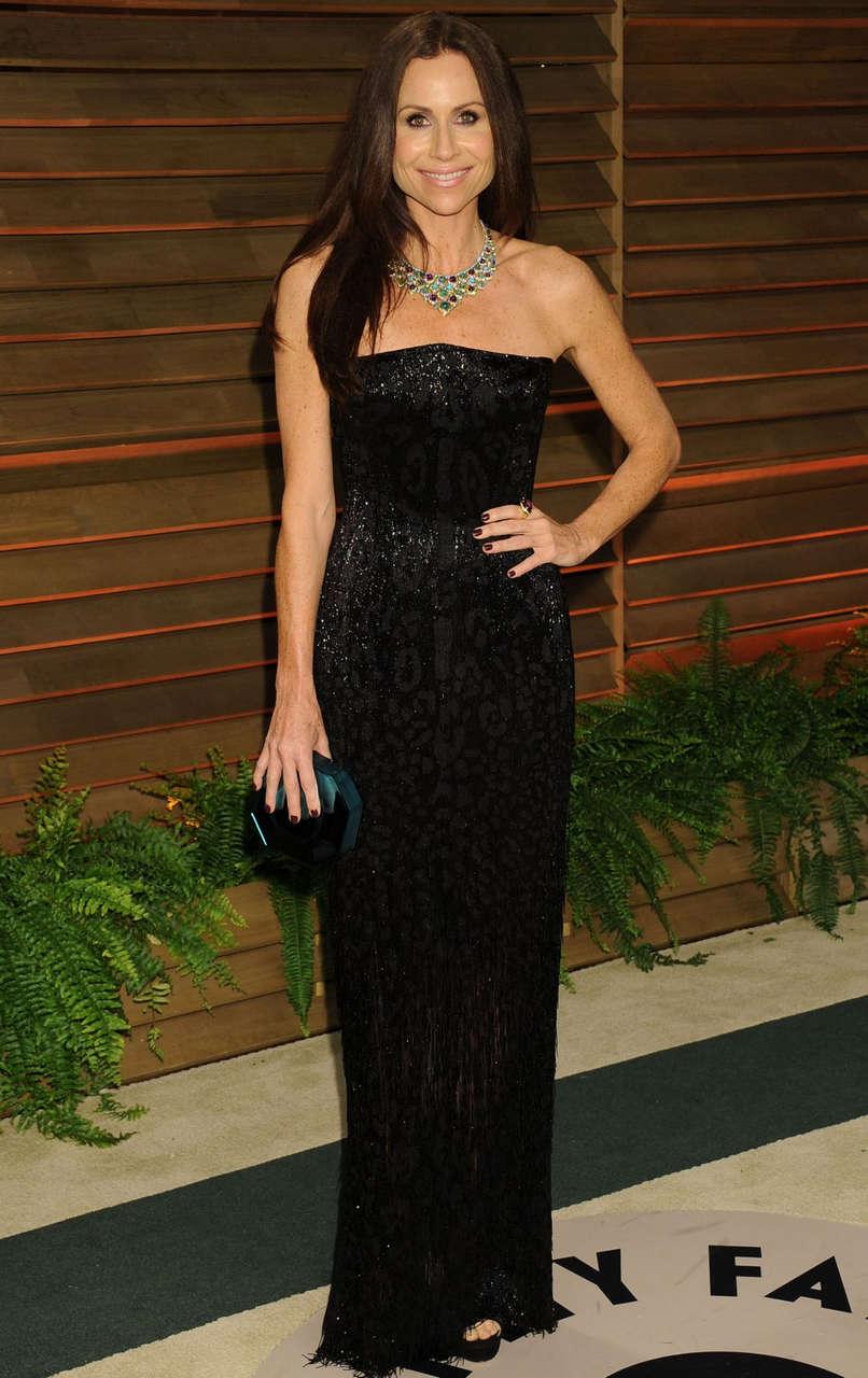 Minnie Driver Vanity Fair Oscar Party Hollywood