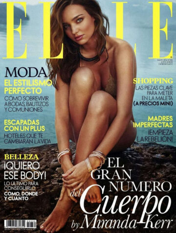 Miranda Kerr Elle Magazine Spain May 2014 Issue