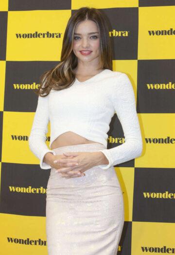 Miranda Kerr Wonderbra Launch Seoul