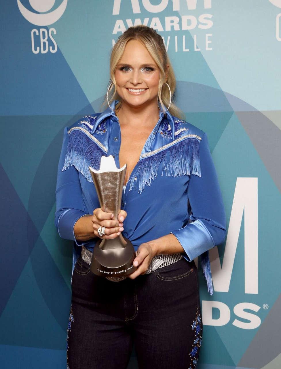 Miranda Lambert 55th Academy Of Country Music Awards Nashville