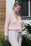 Mischa Barton Outside Her Home Los Angeles
