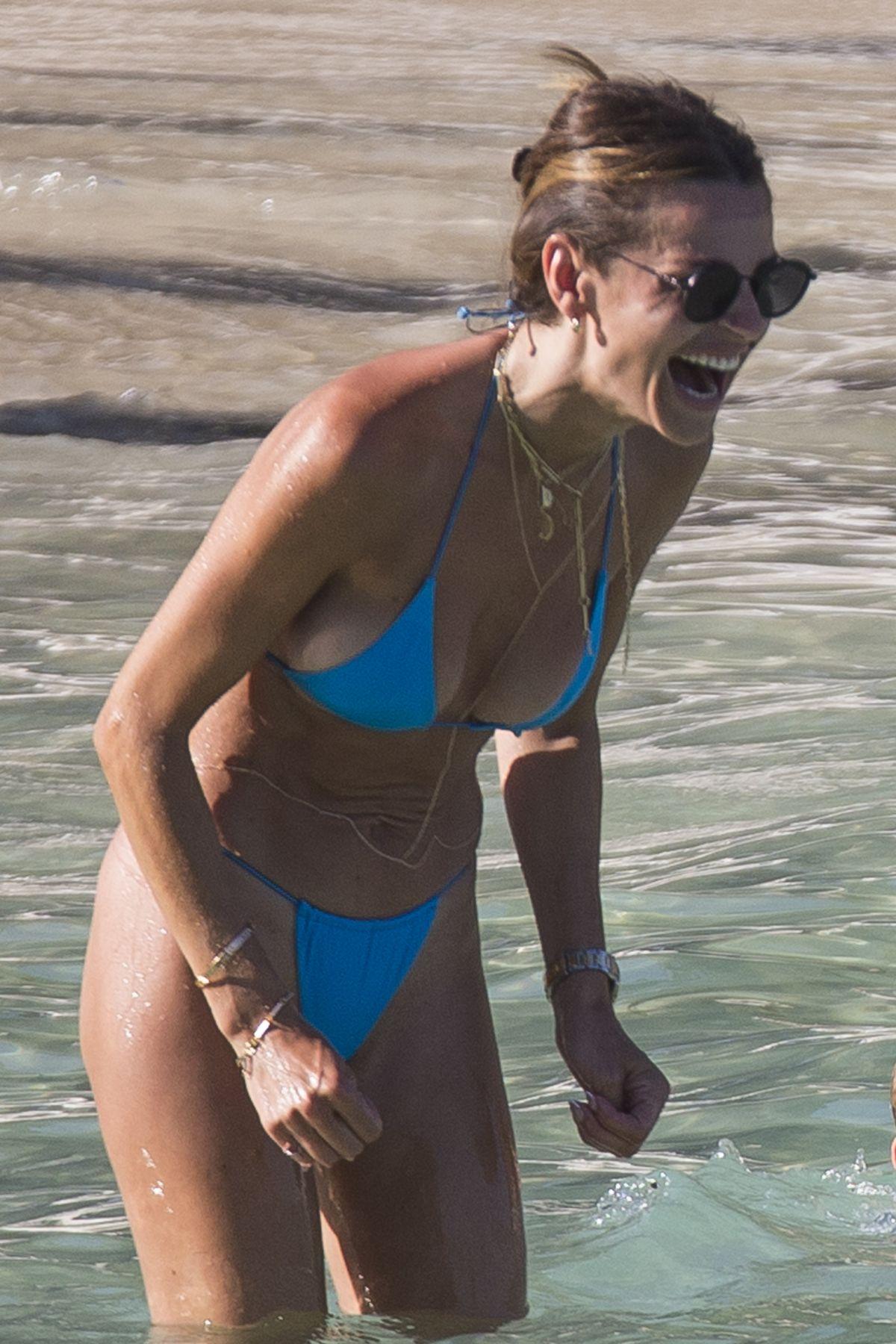 Misse Beqiri Bikini Beach Spain