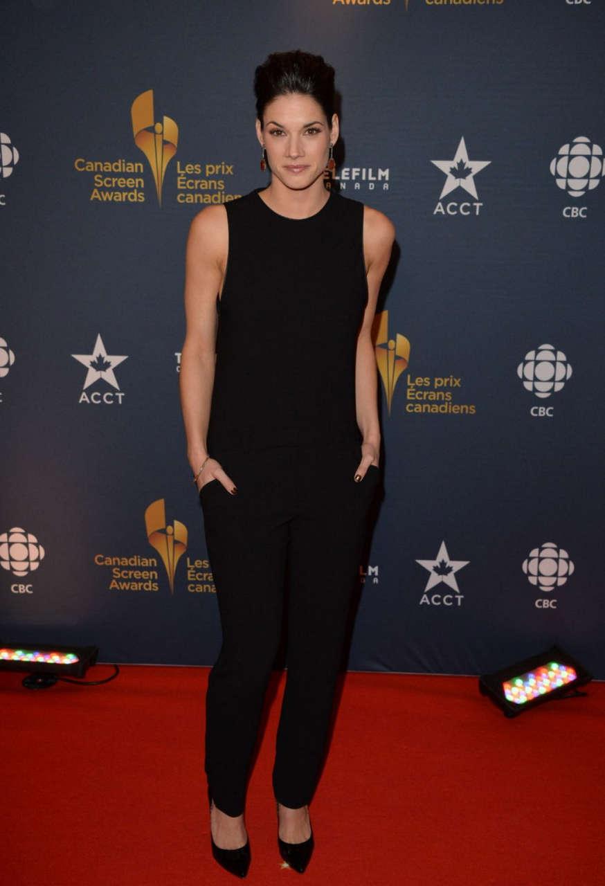 Missy Peregrym 2014 Canadian Screen Awards Toronto