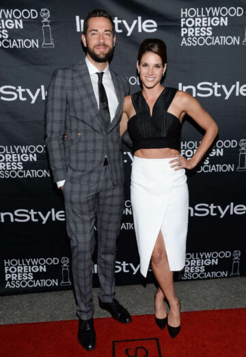Missy Peregrym Hollywood Foreign Press Association Instyle Party Toronto
