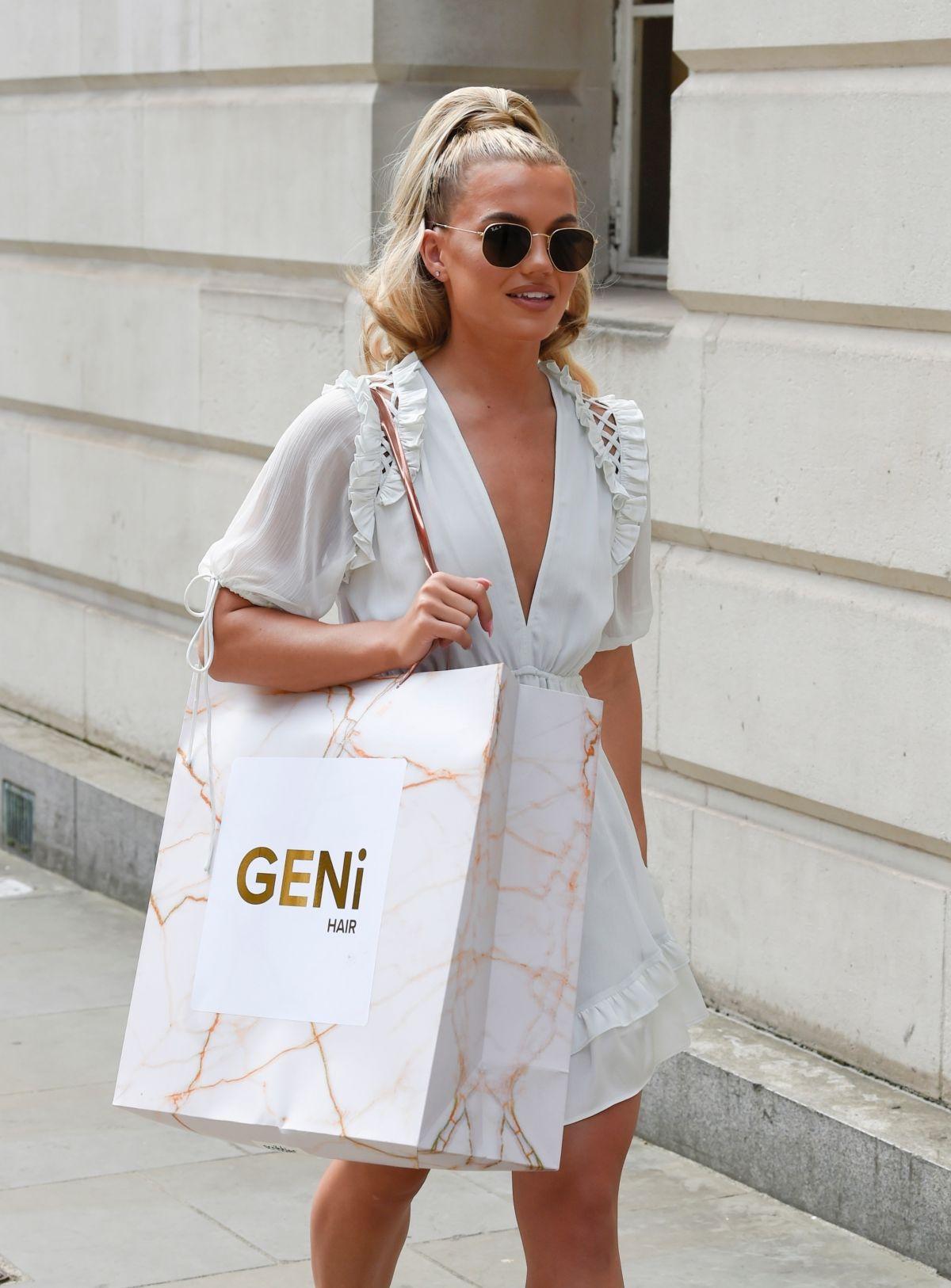 Molly Smith Arrives Gotham Hotel Manchester