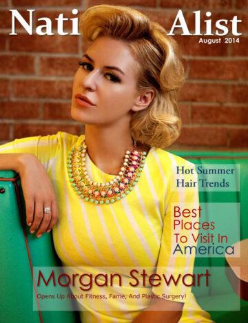 Morgan Stewart Nationalist Magazine August 2014 Issue