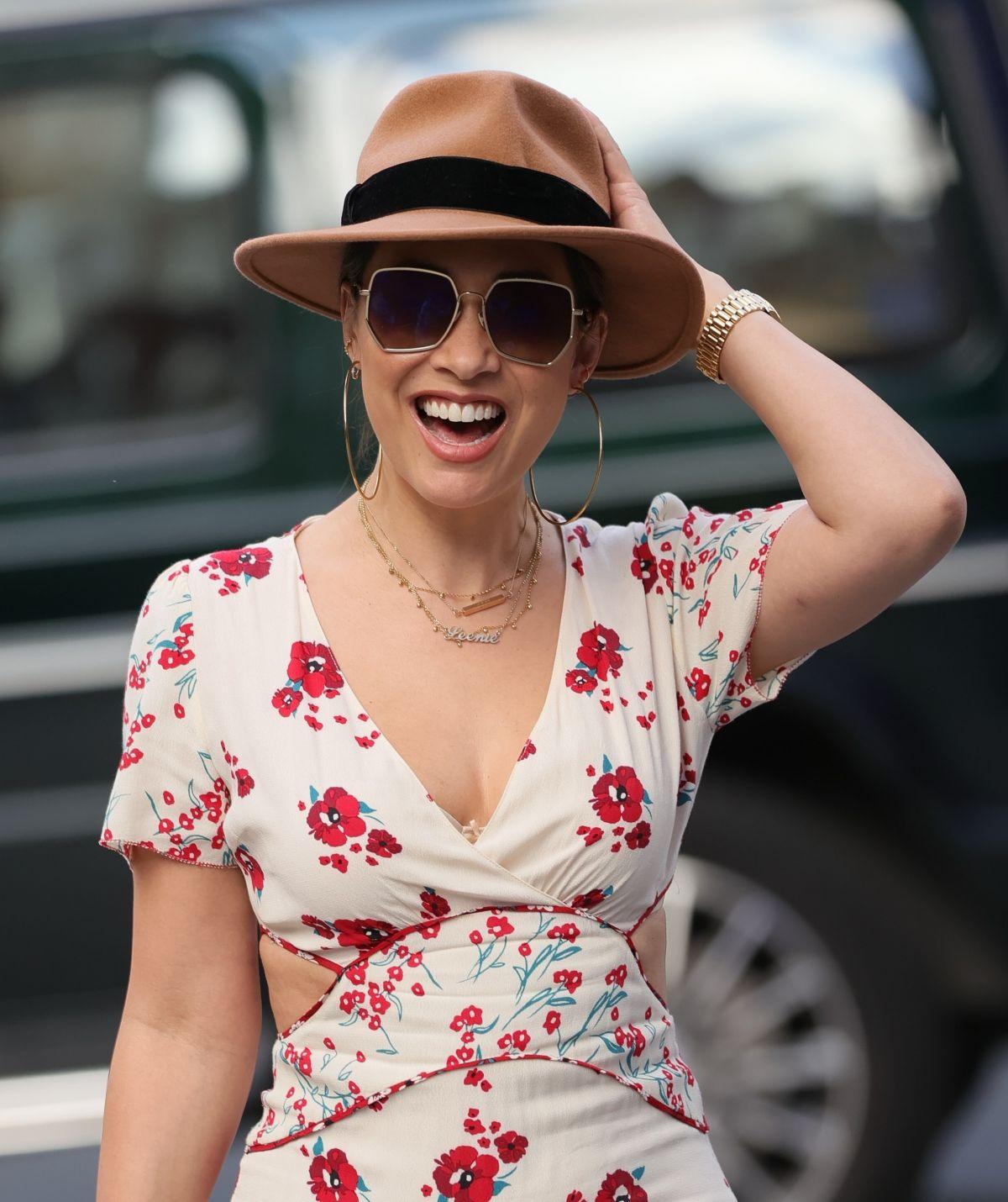 Myleene Klass Arrives Her Smooth Radio Show London