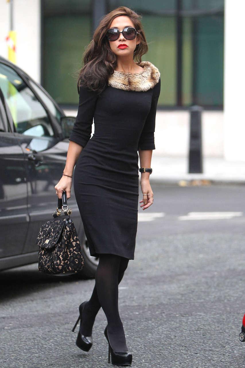 Myleene Klass Leaving Radio 2 Studios London
