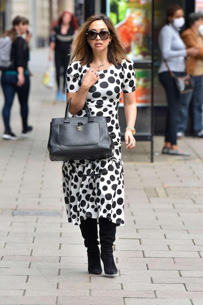 Myleene Klass Out About London