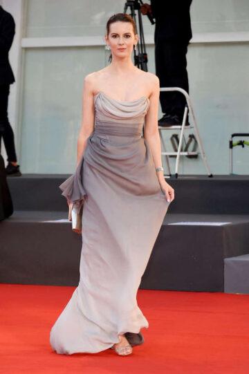 Natalia Ryumina Miss Marx Premiere 2020 Venice Film Festival