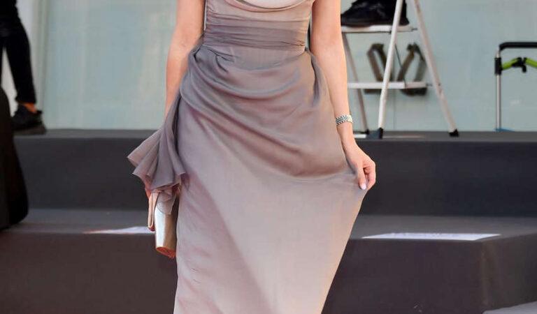Natalia Ryumina Miss Marx Premiere 2020 Venice Film Festival (3 photos)