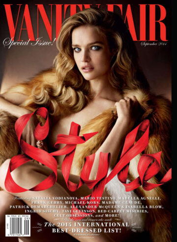 Natalia Vodianova Vanity Fair September 2014 Issue