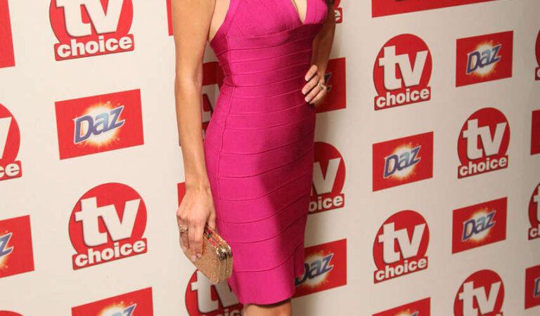 Natalie Anderson 2012 Tv Choice Awards London (4 photos)