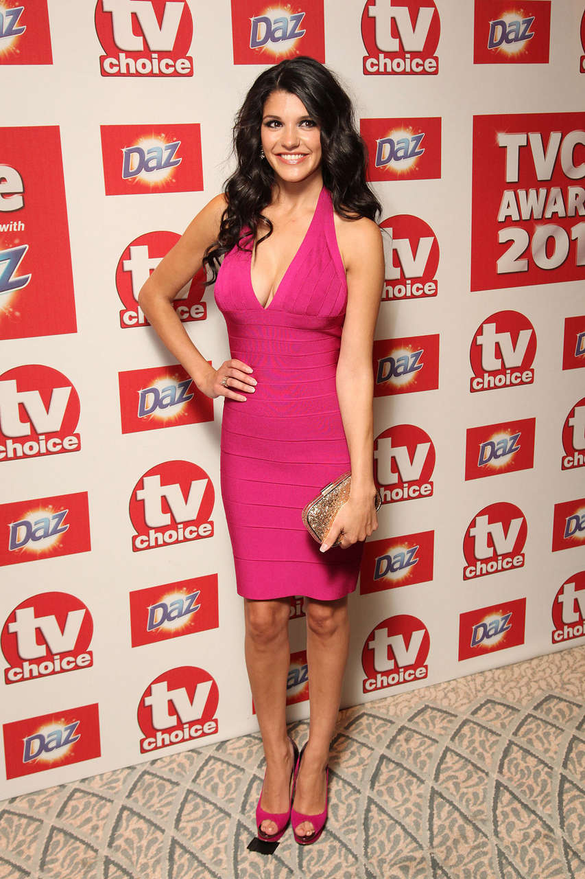 Natalie Anderson 2012 Tv Choice Awards London