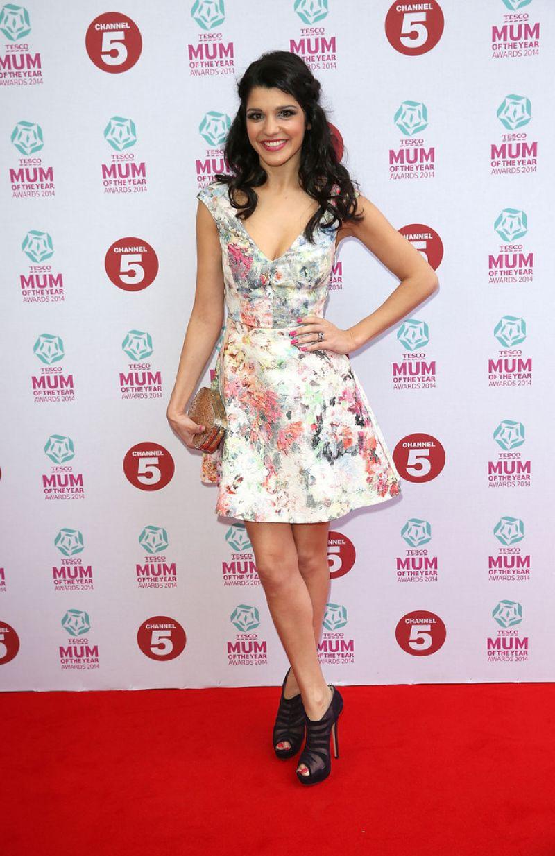 Natalie Anderson Tesco Mum Year Awards London