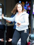 Natalie Cassidy Out About London