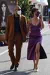 Nathalie Ammanuel Arrives Hotel Excelsior Venice
