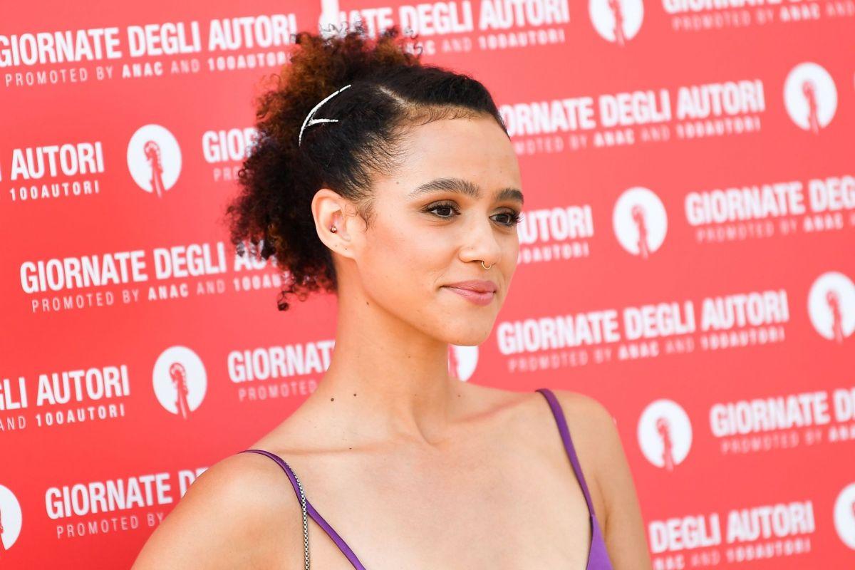 Nathalie Emmanuel Miu Miu Womens Tales Photocall 2020 Venice Film Festival