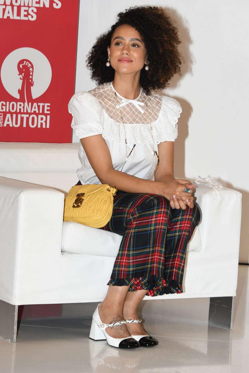 Nathalie Emmanuel Press Conference 2020 Venice Intenrantional Film Festival