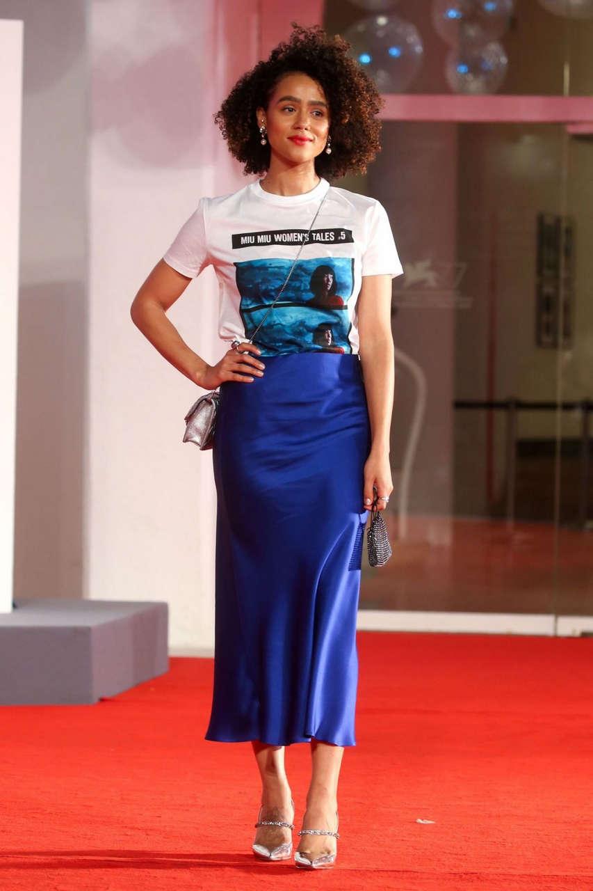 Nathalie Emmanuel Revenge Room Premiere 77th Venice Film Festival