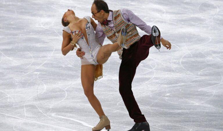 Nelli Zhiganshina Alexander Gazsi Performs 2014 Winter Olympics (8 photos)