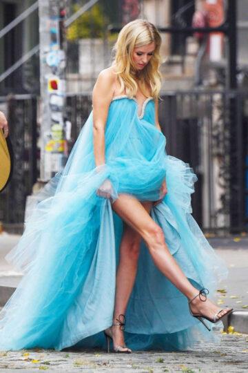 Nicky Hilton Set Of Photoshoot New York