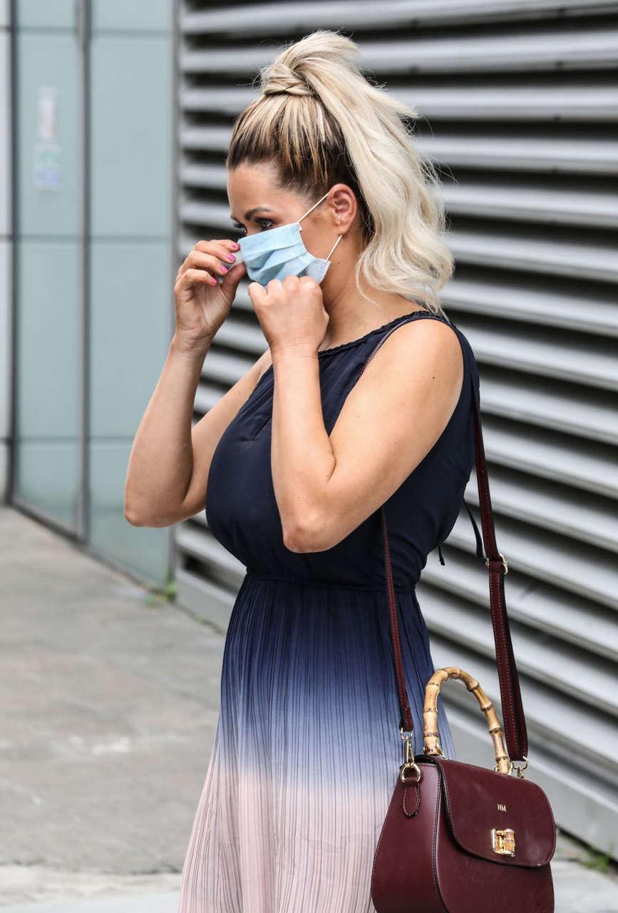 Nicola Mclean Leaves Jeremy Vine 5 Show London