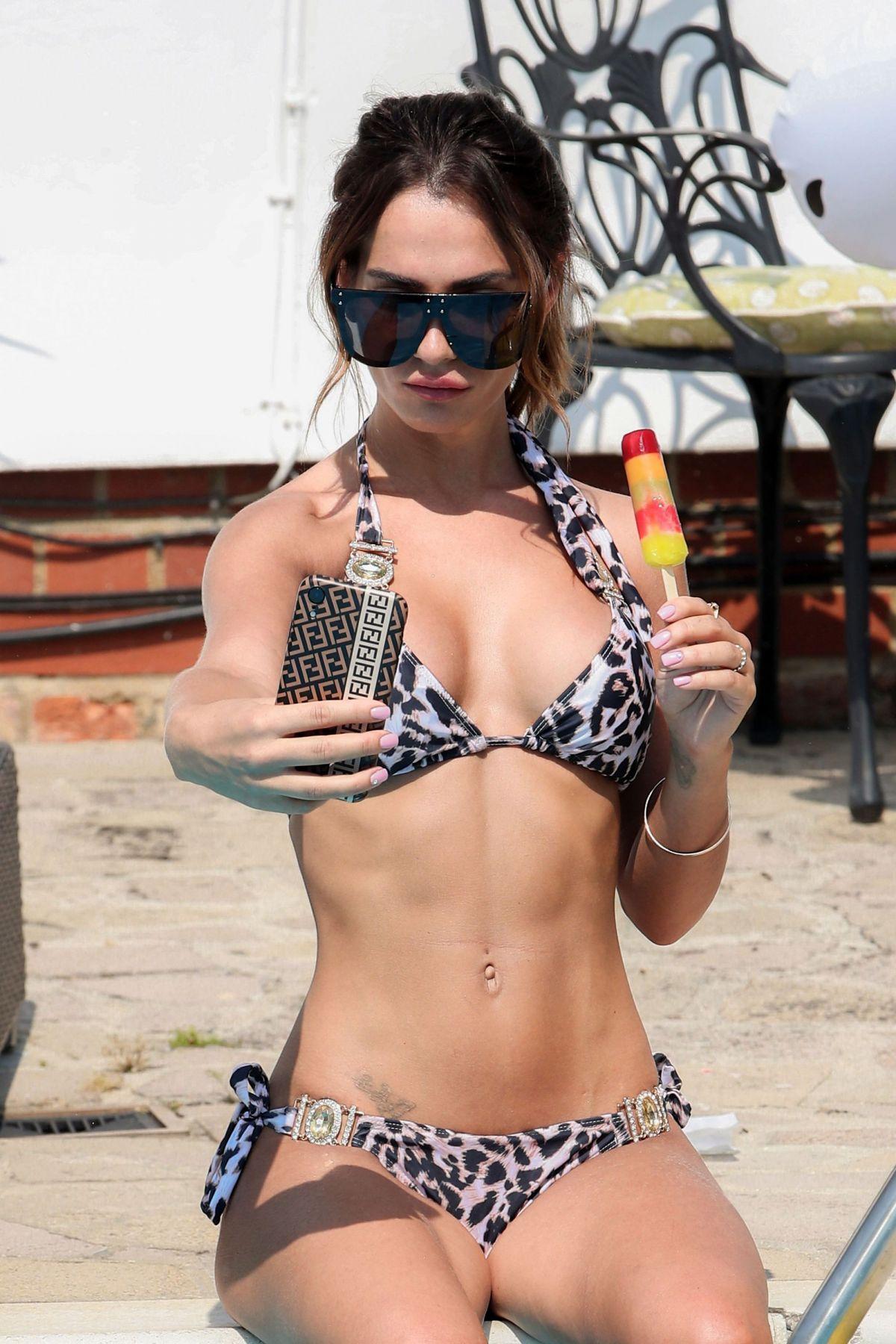 Nicole Bass Bikini Set Towie Essex