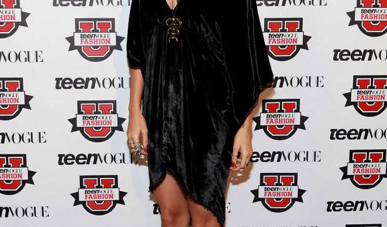 Nicole Richie Teen Vogue Fashion University New York (6 photos)