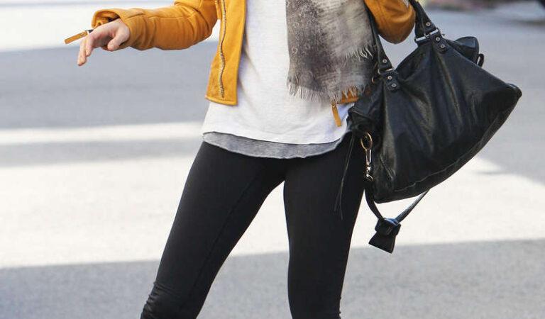 Nicole Richie Tight Leggings Leaving Hits Gym Los Angeles (12 photos)