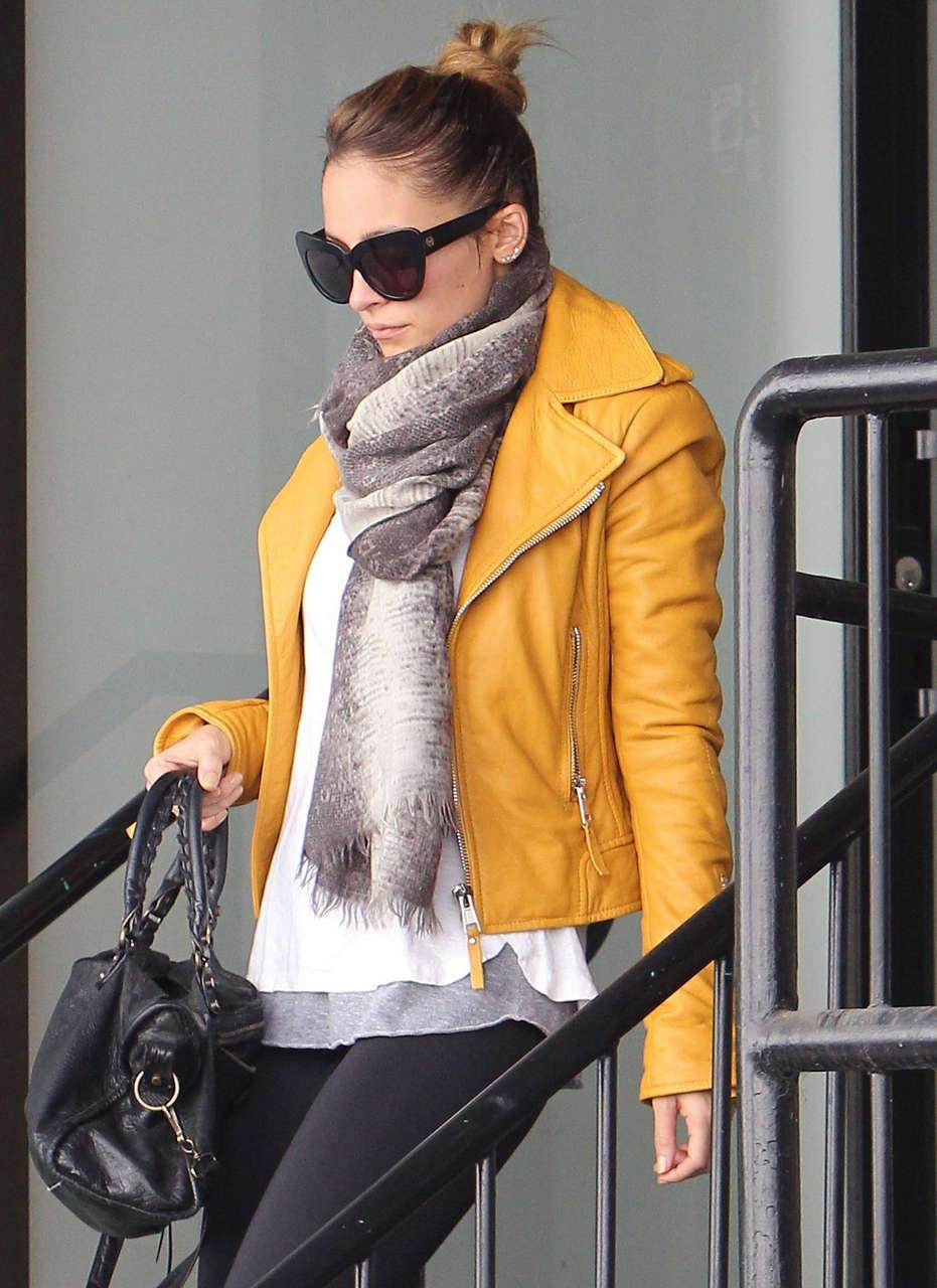 Nicole Richie Tight Leggings Leaving Hits Gym Los Angeles