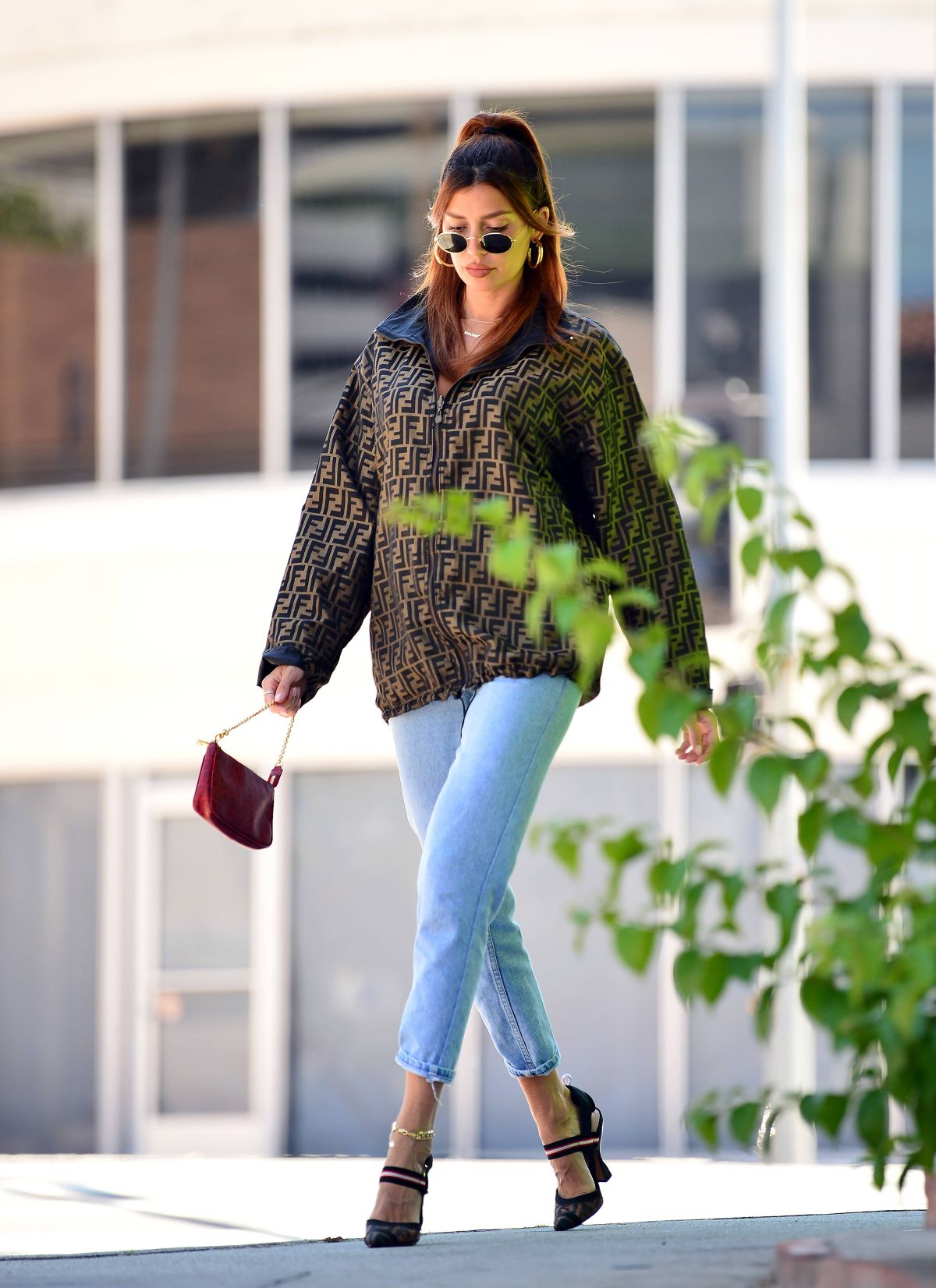 Nicole Williams Out About Los Angeles