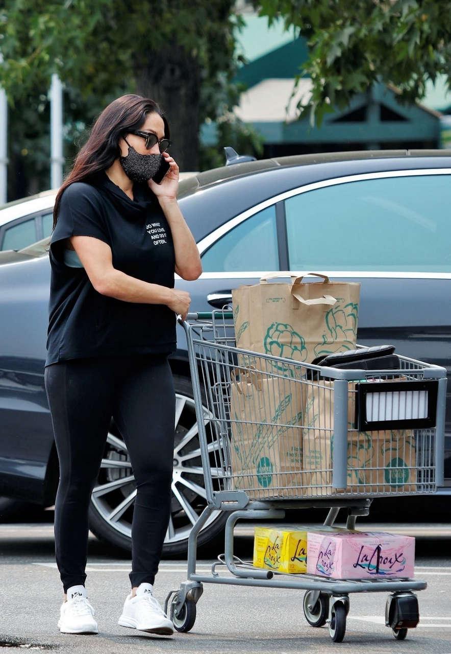 Nikki Bella Shoppinh Whole Foods Sherman Oaks