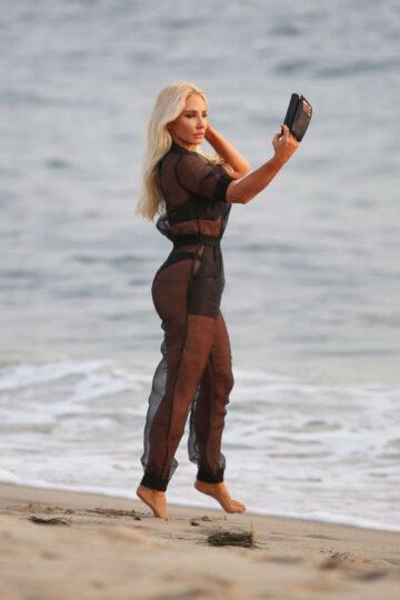 Nikki Lund Ady Victoria Herbey Set Of Her You I Music Video Beach Malibu