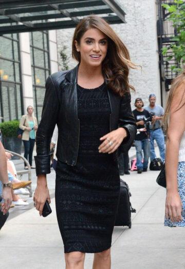Nikki Reed Arrives Crosby Hotel