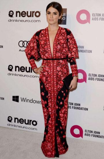 Nikki Reed Elton John Aids Foundation Oscar Party Los Angeles