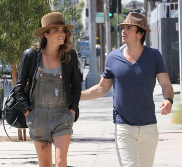 Nikki Reed Ian Somerhalder Out About Los Angeles