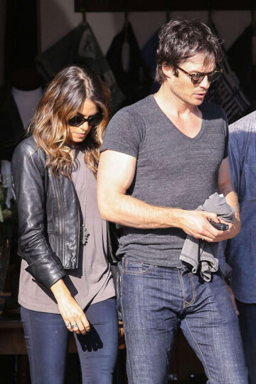 Nikki Reed Ian Somerhalder Out About Venice