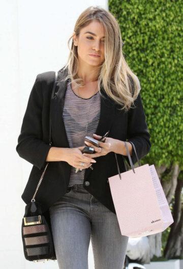 Nikki Reed Leaves Hair Salon Beverly Hiils