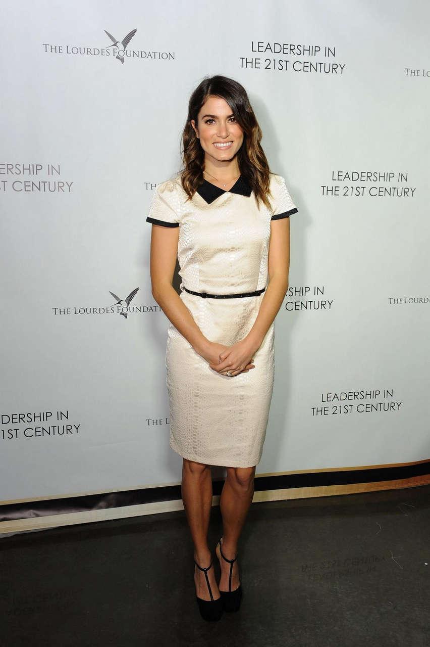 Nikki Reed Lourdes Foundation Leadership 21st Century Event Los Angeles